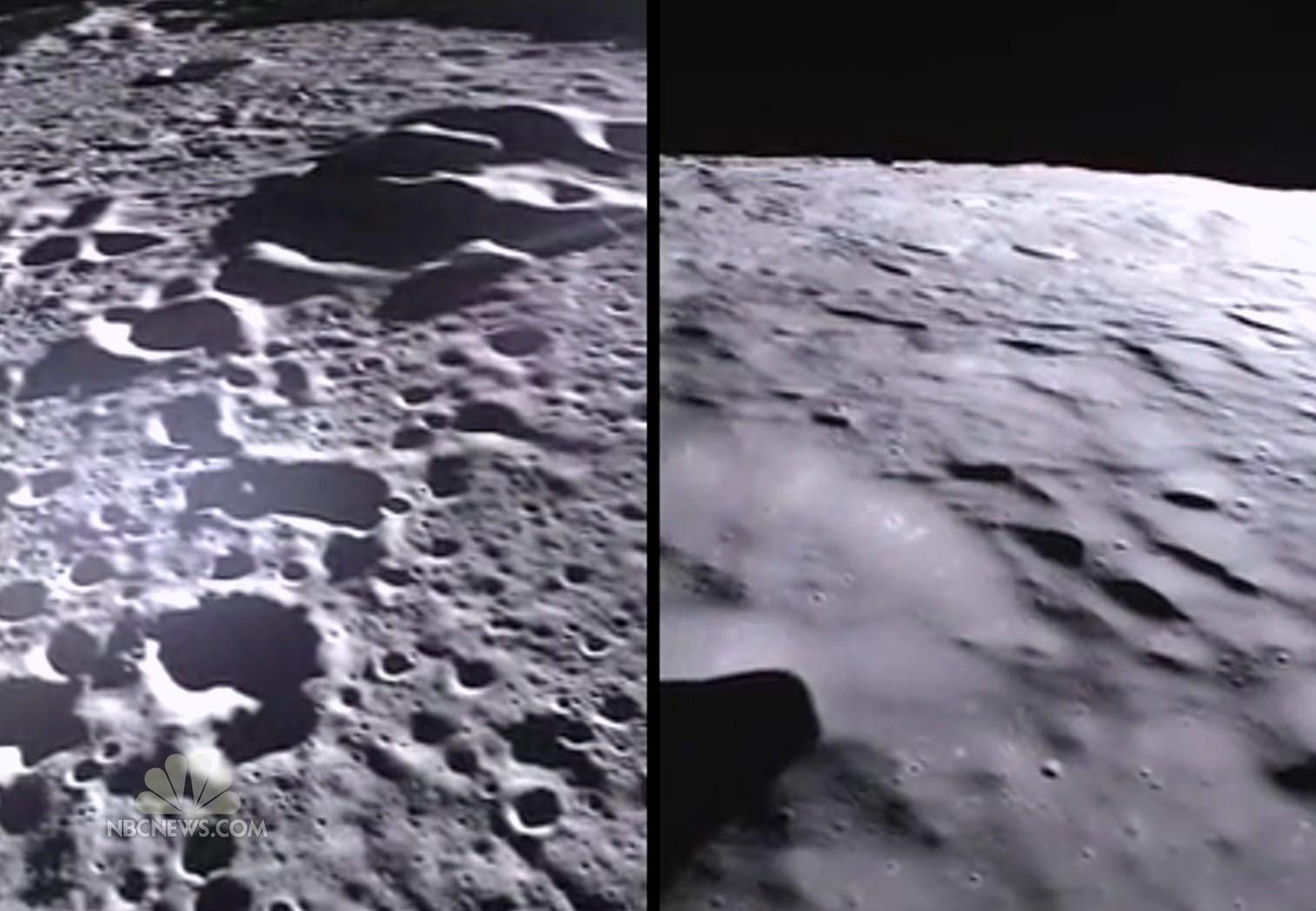 NASA's GRAIL Mission Captures New Images of Lunar Surface