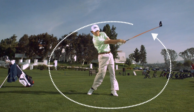 physics of golf The simple double-pendulum model of the golf swing, showing key angles, lengths, and masses for instance, m 1, m 2, and m 3 are the masses of the arms/hands, club head, and ball, respectively l.