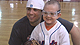 N.Y. Mets players teach baseball skills to kids to raise money for an area pediatric ward.