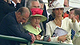 Horse racing fan Queen Elizabeth II is in attendance for her first Kentucky Derby.