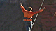 Timmy O'Neil uses clandestine slacklining to practice balance low to the ground before heading a thousand feet up.